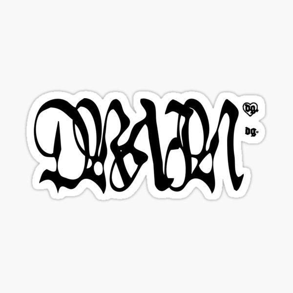 Bladee Drain Gang Logo Sticker