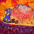 Vincent at Ayers Rock ( Homage to Vincent ) by Richard  Tuvey