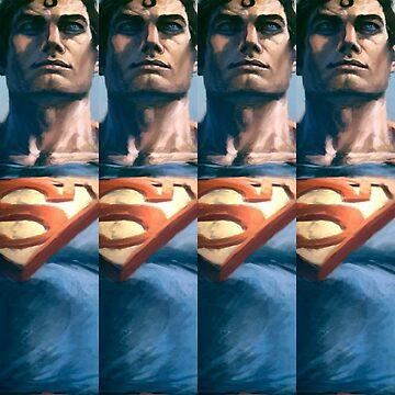 Supermen  by fonzyhappydays