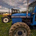 Leyland und Marshall Traktoren von Jay Lethbridge