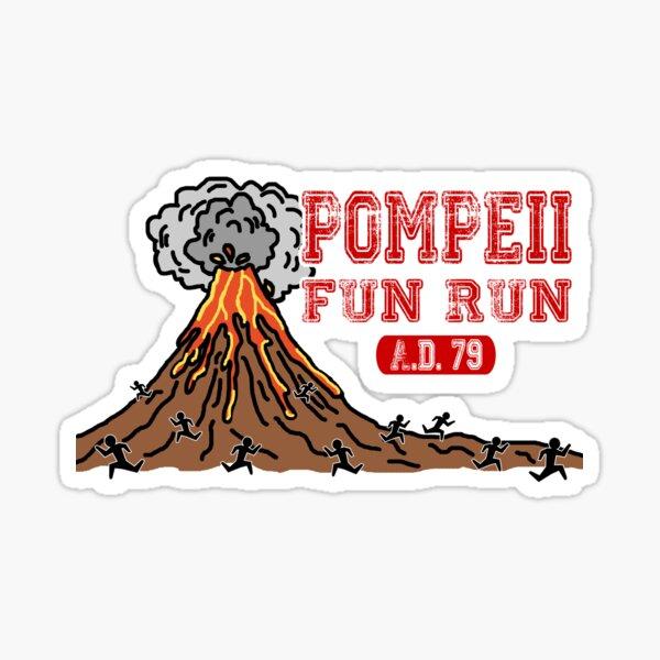 Pompeii Fun Run Sticker
