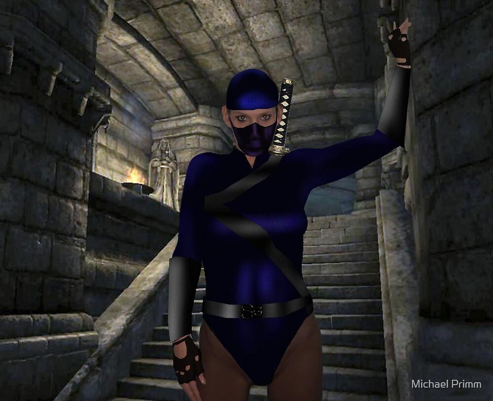 Lady Ninja  by Michael Primm