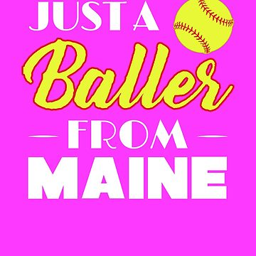 Just A Baller From Maine by KaylinArt