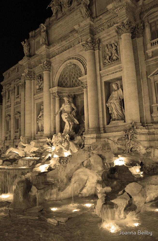 Fontana di Trevi by Joanna Beilby