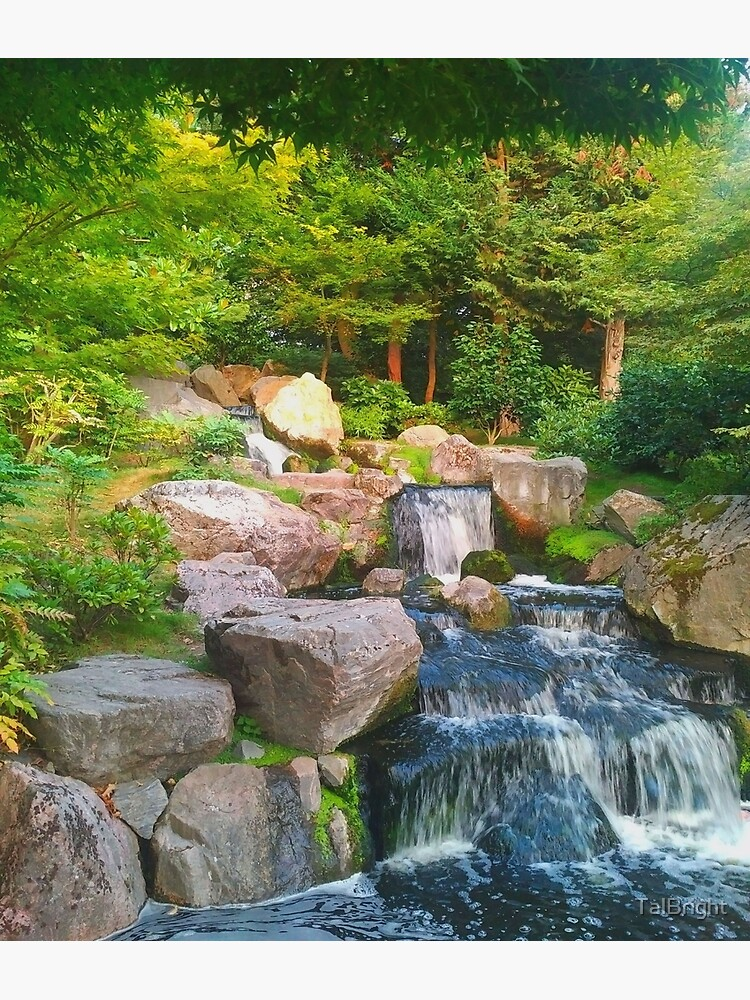 Japanese Waterfall by TalBright