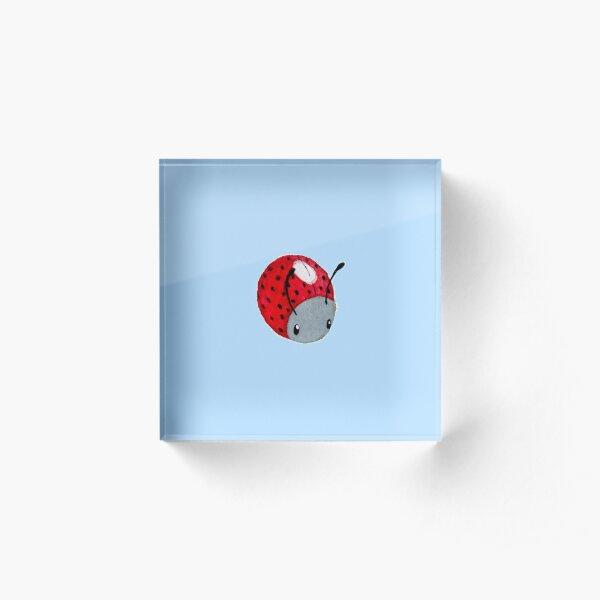 Ladybug Acrylic Block