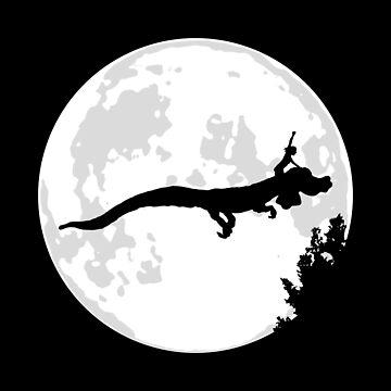 Falkor Moon by CCCDesign