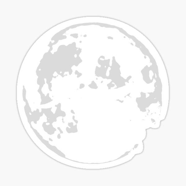 Falkor Moon Sticker
