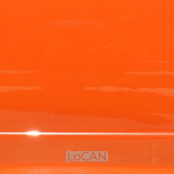 Custom Orange Hot Rod | solid by Locan