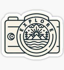 Explore - Ver. 2 Sticker