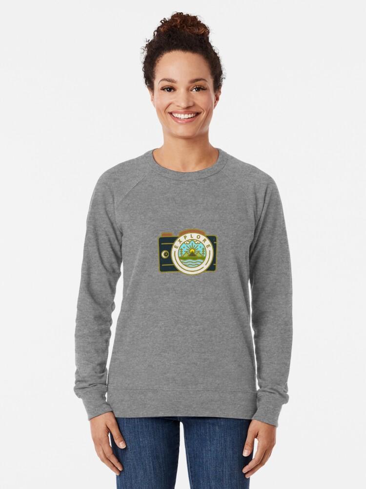 Alternate view of Explore Lightweight Sweatshirt