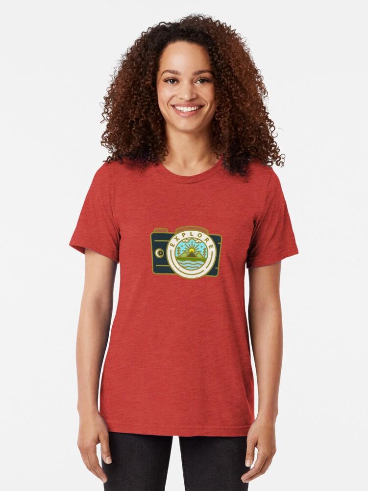 Alternate view of Explore Tri-blend T-Shirt