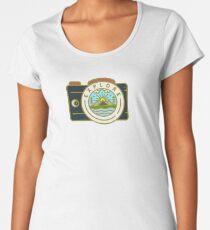 Camiseta premium para mujer Explorar