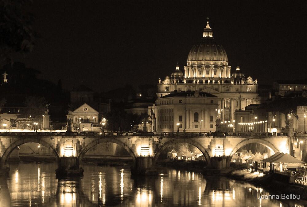 Down Stream Catholicism, Rome. by Joanna Beilby