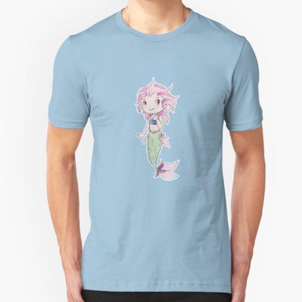 Happy Mermaid Slim Fit T-Shirt