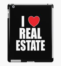 I Love Real Estate iPad Case/Skin