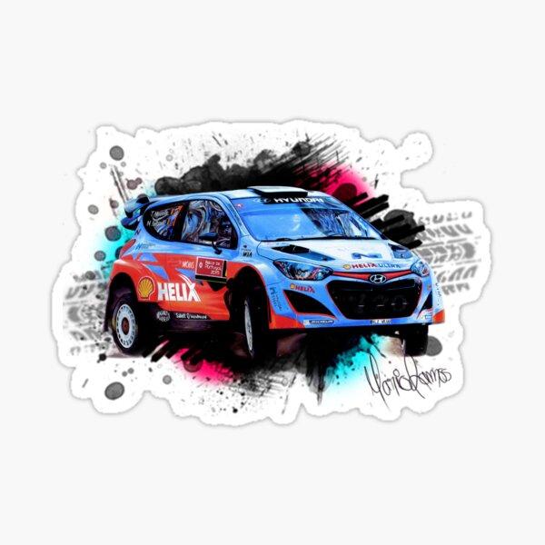 Hyundai i20 WRC de Thierry Neuville Pegatina