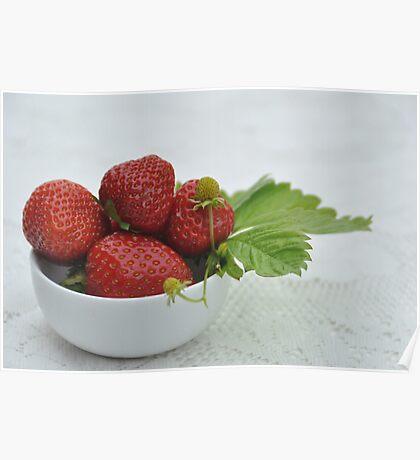 Strawberries, but no cream Poster