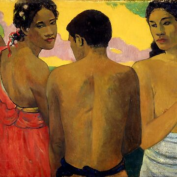 "Paul Gauguin ""Three Tahitians"" by ALD1"