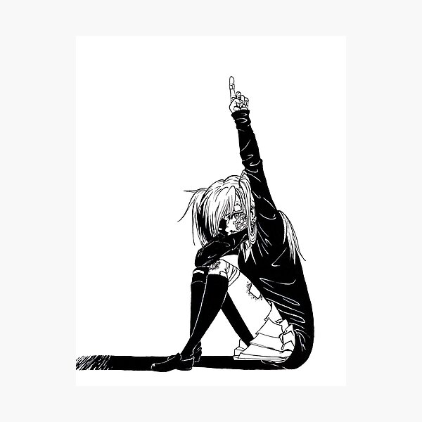 Rolling Girl Photographic Print