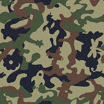 Awesome Camouflage Woodland by wickedrefined