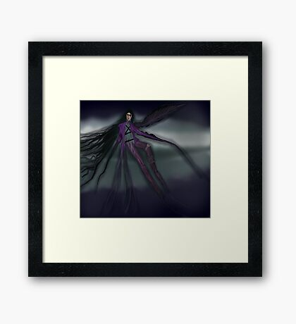Into The Air With Colors Framed Print