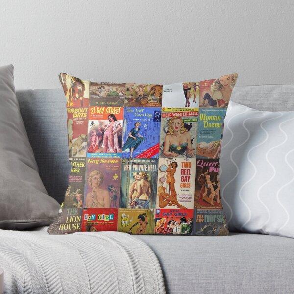 Bride Frankenstein Cushion Cover Pillow Horror Movie Homewares Retro Vintage