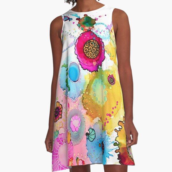 Lollipop A-Line Dress