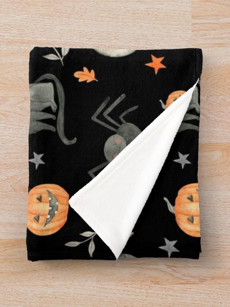 Alternate view of HALLOWEEN PARTY Throw Blanket