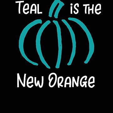 Teal Pumpkin Teal is the New Orange Halloween by stacyanne324