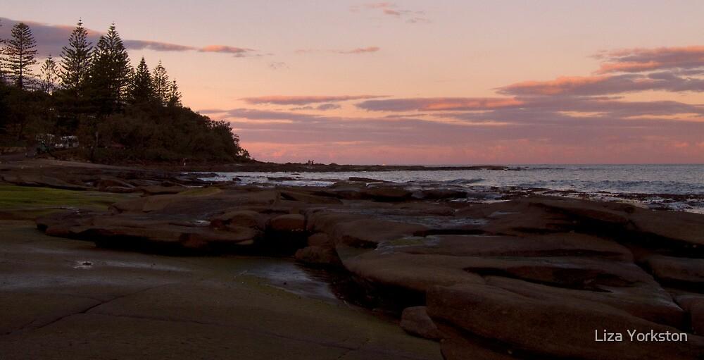 Shelly beach sunrise by Liza Yorkston
