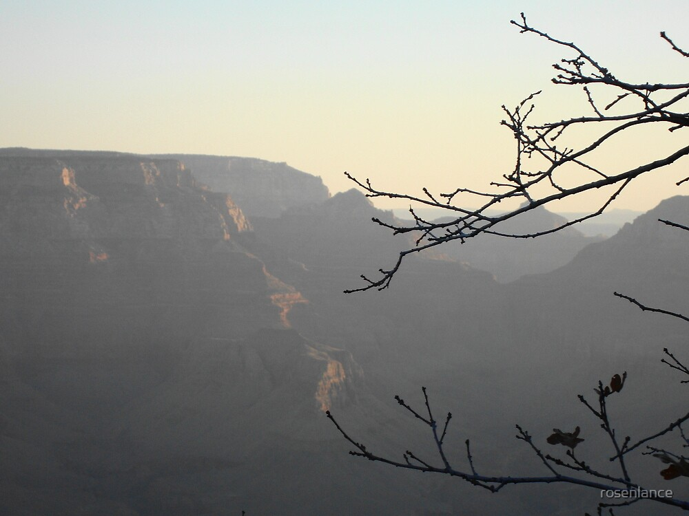 Dawn in the Grand Canyon, AZ by rosenlance