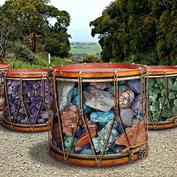Stone Drums by GolemAura