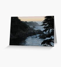 View of Point Lobos Greeting Card