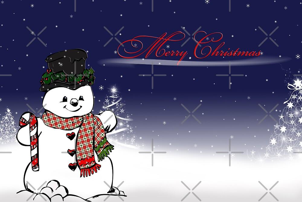 Snowman Season by Maria Dryfhout