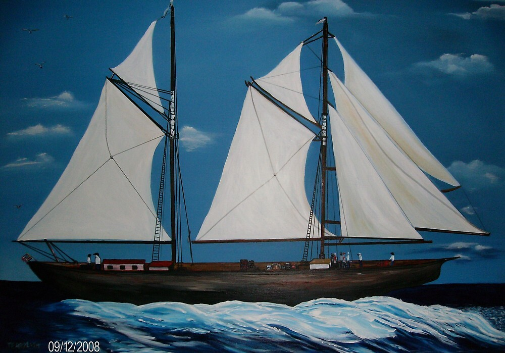 Tall Ships by terrilee