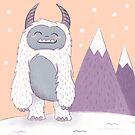 Happy Yeti by latheandquill