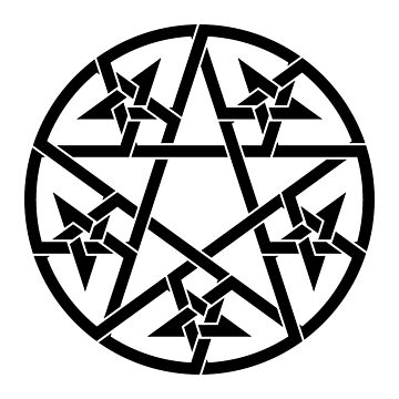 Pentagram Ritual Celtic Knot by Thel0n