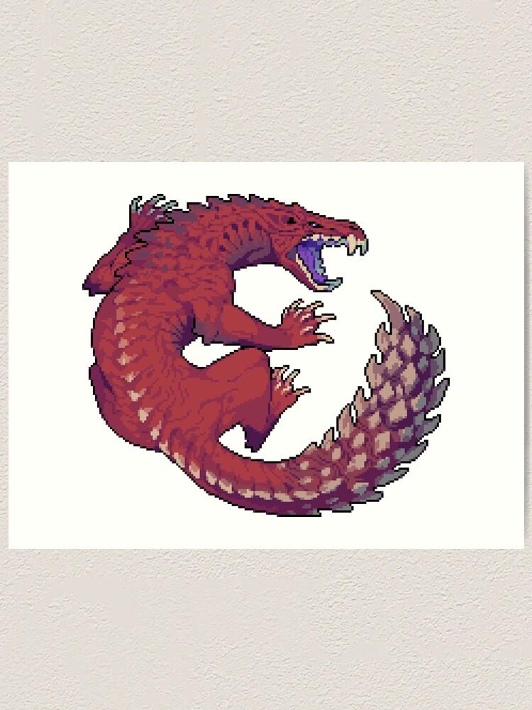 Odogaron Art Print By Gomgrut Redbubble