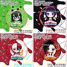 BNHA Froppy & Earphone Jack & Shoto & Creati Donuts by Rumby