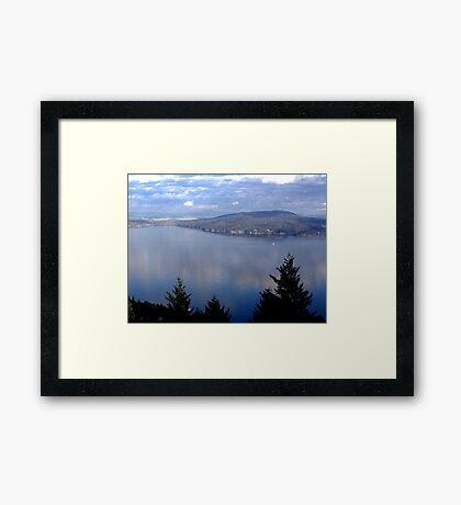 Saanich Peninsula Framed Print