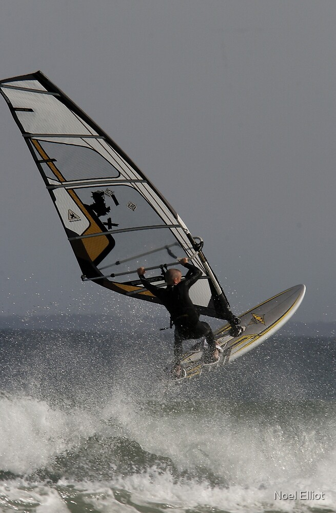 Windsurfer # 4 by Noel Elliot