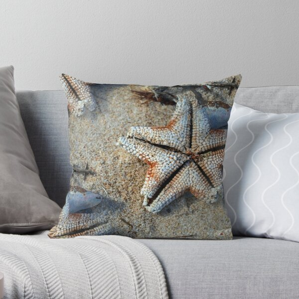 Carrickalinga Starfish Throw Pillow