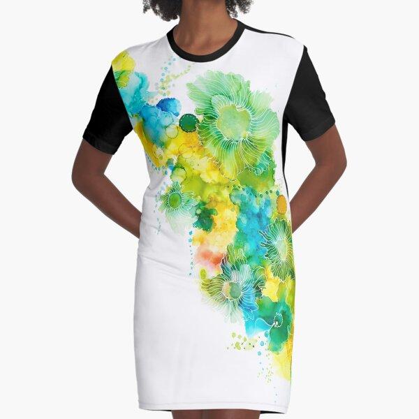 Margarita Graphic T-Shirt Dress