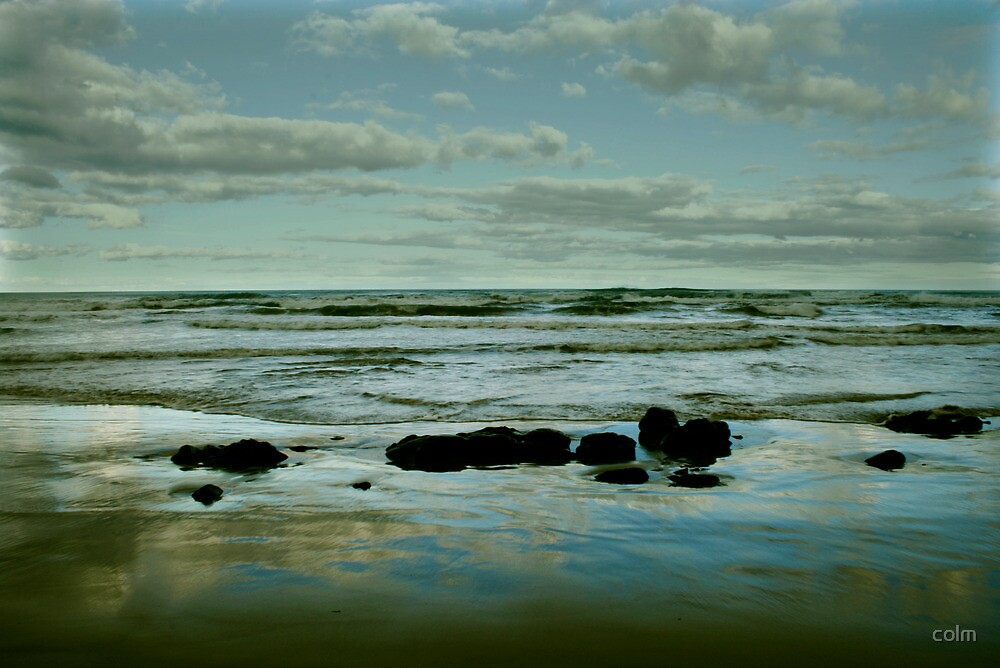 Fairhaven Beach, late afternoon by colm