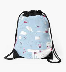 Imaginative Weird World Drawstring Bag