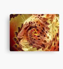 Golden Leopard Canvas Print