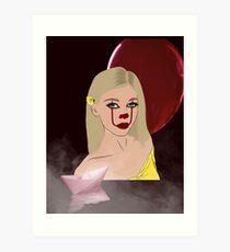 Loren As IT The Clown Art Print