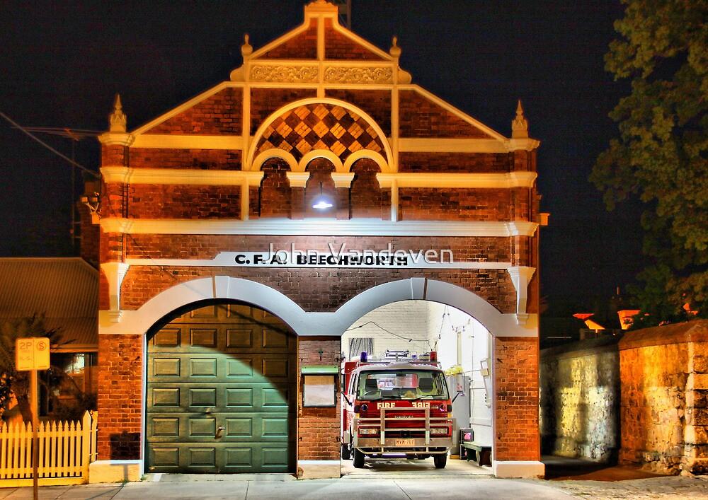 Beechworth Fire Station HDR by John Vandeven