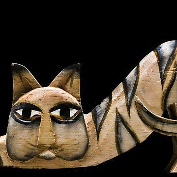 Downward Cat Stretch! by heatherfriedman